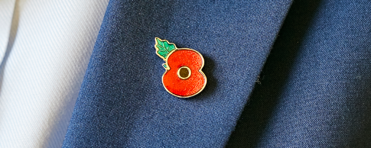 Poppy Shop UK - Poppy Pins, Charity Badges and Lapel Pins