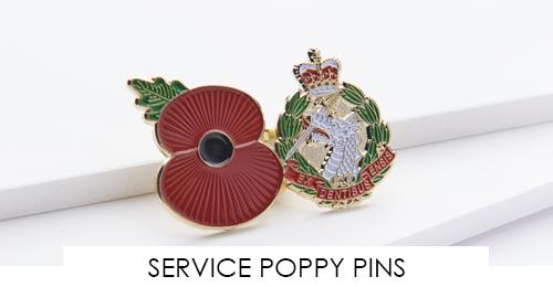 SERVICE POPPY PINS