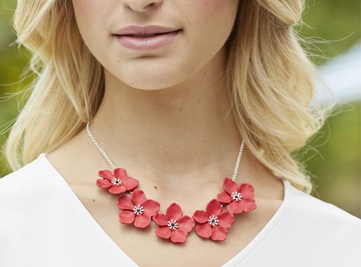 Poppy Necklaces