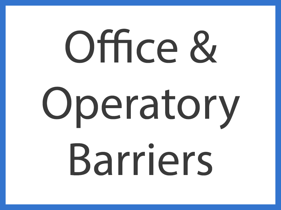 Office & Operatory Barriers