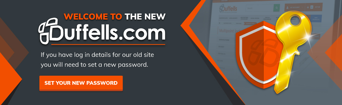 Set your new password
